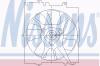NISSENS 85491 Вентилятор, конденсатор кондиционера