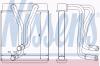NISSENS 77508 Теплообменник, отопление салона