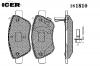 ICER 181810 Комплект тормозных колодок, диско