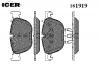 ICER 181919 Комплект тормозных колодок, диско