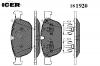 ICER 181920 Комплект тормозных колодок, диско