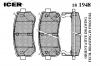 ICER 181948 Комплект тормозных колодок, диско