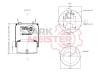 STARKMEISTER S44.8362C1 Пневморессора 836M2K1 (2 штуцера) металлический стакан DAF