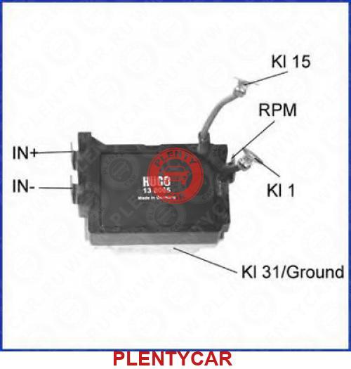 Коммутатор, система зажигания - HÜCO 138065, фото, OEM ...: http://plentycar.ru/autopart/302379
