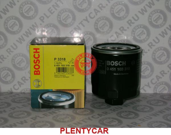 Summary -> Bosch 0451103318 Oil Filter Cross Reference