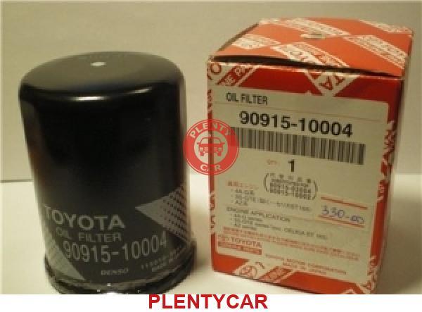 аналоги масляного фильтра 90915-10004 toyota